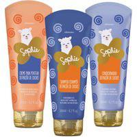 Combo Sophie Cachos: Shampoo + Condicionador + Creme Para Pentear