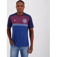 Camisa Super Bolla Bahia Tricolor Paris Masculina - Masculino-Azul
