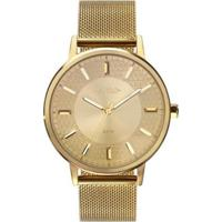 Relógio Euro Mix Texture Dourado Eu2036Ypb/4D Feminino - Feminino-Dourado