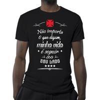 Camiseta Vasco Minha Vida Masculina - Masculino