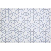 Tapete Dhurie Moroccan 11 Off White/Light Blue