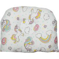 Travesseiro Anatômico Para Bebê Estampa Unicórnio
