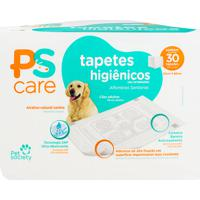 Tapete Higiênico Pet Society Ps Care 30 Unidades