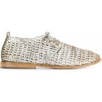 Marsèll Sapato Com Cadarço E Contas - Prateado