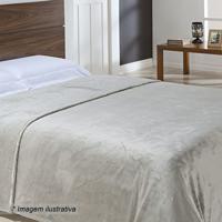 Cobertor Texturizado Super King Size- Cinza Claro- 2Niazitex