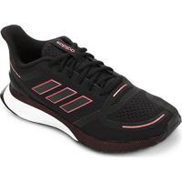 Tênis Adidas Nova Run Masculino - Masculino-Preto+Vinho