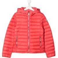 Moncler Kids Maya Padded Coat - Rosa