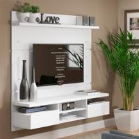 Painel Para Tv 50 Polegadas Live Branco 160 Cm