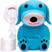 Inalador E Nebulizador G-Tech Dog Azul Bivolt - Unissex-Incolor