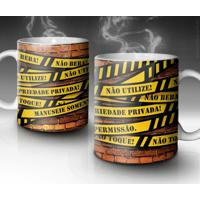 Caneca Do Not Cross