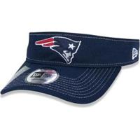 Viseira New Era New England Patriots Nfl Aba Curva - Masculino