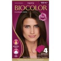 Tintura Biocolor 4.7 Marrom Escuro