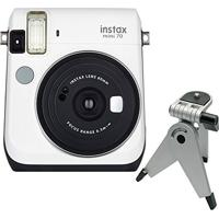 Câmera Instantânea Fujifilm Instax Mini 70 Branca + Tripé C/ Cabeça Móvel