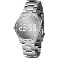 Relógio Digital Lince Feminino - Mdm4617L Bxsx Prateado