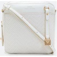 Bolsa Transversal Em Tresse Camera Bag | Satinato | Off White | U
