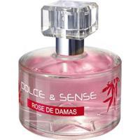 Perfume Feminino Dolce & Sense Rose De Damas Paris Elysees Eau De Parfum 60Ml - Feminino-Incolor