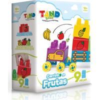 Blocos De Montar - Tand Baby - Carrinho De Frutas - Toyster - Unissex