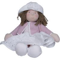 Boneca Lia Quarto Bebê Infantil Menina Rosa Potinho De Mel