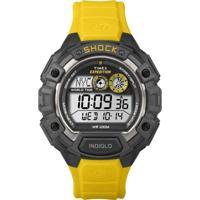 Relógio Timex T49974Ww/Tn Amarelo