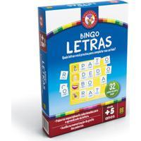 Jogo Educativo Bingo Das Letras - Grow