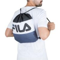 Gym Sack Fila Flag - Preto/Cinza