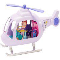 Mini Boneca E Acessórios - Polly Pocket - Helicóptero De Aventura - Mattel