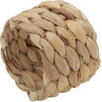 Conjunto 4 Anéis Porta Guardanapos Fibra Natural - Bege
