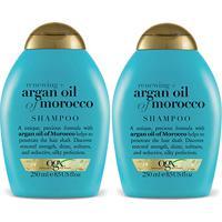 Kit Shampoo Ogx Argan Oil Of Morroco 250Ml 2 Unidades - Feminino