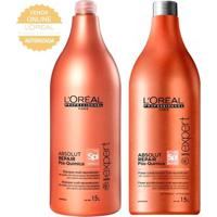 L'Oréal Professionnel Absolut Repair Pós Química Kit - Shampoo 1,5L + Condicionador 1,5L Kit - Unissex-Incolor