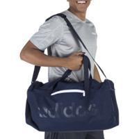 Mala Adidas Linear Core Duffel Bag M - Azul Escuro