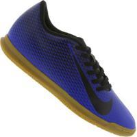 Chuteira Futsal Nike Bravata X Ii Ic - Adulto - Azul/Preto