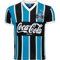 Camisa Retrô Grêmio 1989 Masculina - Masculino