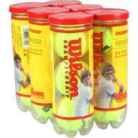 Kit Bola De Tennis Wilson 6 Tubos - Unissex