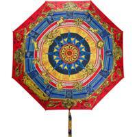 Moschino Guarda-Chuva Com Estampa De Zodíaco - Vermelho