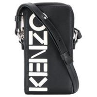 Kenzo Capa Para Celular Transversal Com Logo - Preto