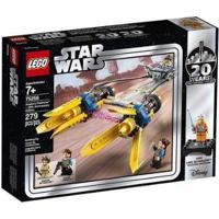 Lego Star Wars Podracer De Anakin 20º Aniversário 75258 - Masculino-Amarelo