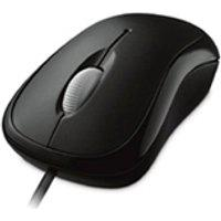 Mouse Optical Microsoft Basic Com Fio Usb Preto - P5800061