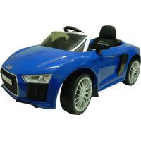 Carrinho Elétrico Xalingo Audi R8 6V Com Controle Azul