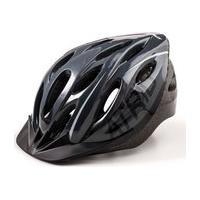 Capacete Para Ciclismo Mtb 2.0 Com Led Traseiro 19 Entradas De Ventilação Cinza/Preto Atrio Tam. M - Bi170