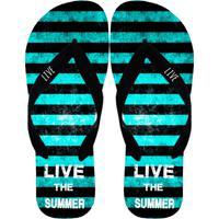 Chinelo Live Chinelos Summer Multicolorido