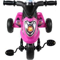 Miniciclo Triciclo Bel Brink Toca Música E Acende Luzes - Unissex-Rosa