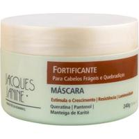 Máscara Fortificante Jacques Janine 240G - Unissex-Incolor