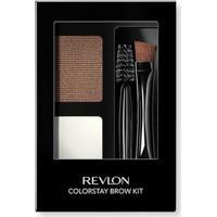 Paleta Para Sobrancelhas Revlon Colorstay Brow Kit Soft Brown - Unissex-Incolor
