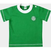Camiseta Palmeiras Bebê Cores Clube - Masculino