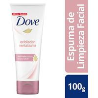 Espuma De Limpeza Facial Dove Esfoliação Revitalizante 100G - Feminino-Incolor