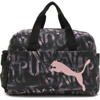 Bolsa Puma At Ess Grip Bag Preta