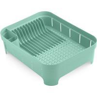 Escorredor De Louças Plástico Verde Menta Trium Ou