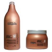 Kit Shampoo E Máscara L'Oréal Absolut Repair Pós Química