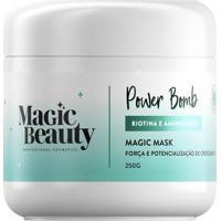 Máscara Capilar Magic Beauty Power Bomb 250G - Unissex-Incolor
