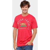 Camiseta Ufc Urijah Faber Torque 203 Masculina - Masculino-Vermelho